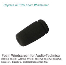 Re AT8109 Foam Windscreen for audio-technica ES915C ES915H AT915C AT915H MIC 2x