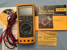 Fluke 89-IV True RMS Industrial Multimeter WITH Beha rotary field indicator