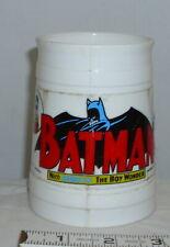 BATMAN AND ROBIN THE BOY WONDER 1966 PLASTIC MUG ZOK!