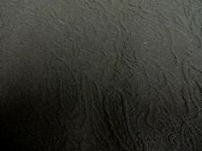 """Black Polyester Jaquard  Jersey fabric 58"""" wide.Free postage on 2nd,3rd metre"""