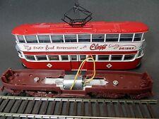"Diecast Tram motor to fit Corgi / ATLAS, ""Feltham"" Trams Lon/Sun/Leeds 1:76 (OO)"