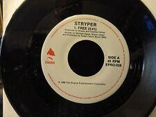 STRYPER / FREE 1986  Enigma EPRO-028 PROMO NM