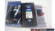 "Star Wars Episode IV ""A New Hope"" 1995 THX VHS  Darth Vader  free shipping!"
