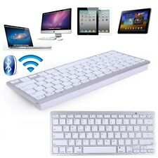 Wireless Slim Bluetooth 3.0 Keyboard Gaming Computer Pc Laptop For Apple MacBook