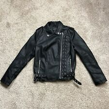 New w/Tags Members Only Bomber Jacket Black Size Medium