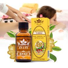 100% Plante Naturelle Huile De Thérapie Massage Drainage Lymphatique Gingembre