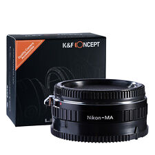 K&F Concept adapter for Nikon AI mount lens to minolta sony af camera a200 a300