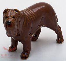 Porcelain Figurine of the Neapolitan Mastiff dog