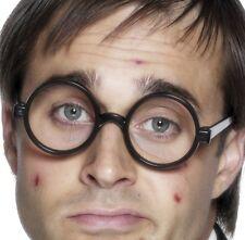 Schoolboy Schoolgirl Fancy Dress Glasses Potter Black New by Smiffys