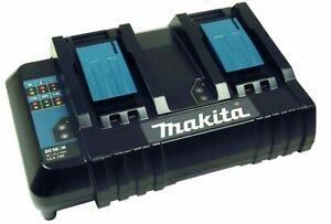 Makita DC 18 SH Doppel-Ladegerät 199687-4 - 14,4 -18 V