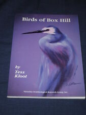 BIRDS OF BOX HILL By TESS KLOOT Signed by Author - VICTORIAN ORNITHOLOGICAL