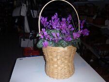 "Longaberger ""ONE OF A KIND"", Prototype ""BONNET"" Basket 2007 Natural Color, NEW!!"