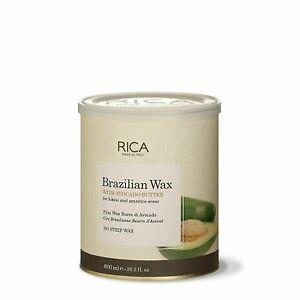 Rica wax Brazilian Wax with Avocado Butter Bikini,Hair Removal Sensitive Area