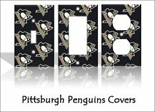 Pittsburgh Penguins Light Switch Covers Hockey NHL Home Decor Outlet
