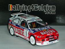 1/43 IXO Ford Escort Cosworth #1 Bastos Rally du Condroz 1995 Snijers RICH007