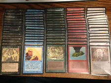 MTG Magic The Gathering Legends Complete 75 Card Common Set / Chain Lightning