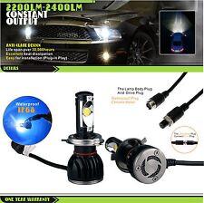 2*H4 Cree LED Car Bulb 6500K Hi/Low Beam12V 22/30W for Ford Ranger Focus Mustang