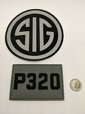 """Sig Sauer /""""When it Counts/""""  Lapel or Hat Pin"""