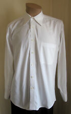 MONSIEUR By GIVENCHY Men's White French Cuff Dress Shirt 15 1/2 32/33