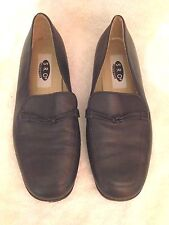 'S.R.O. Flextec' Navy Leather Slip on Flats Loafers - Size 10 M - EUC