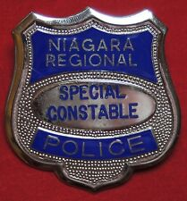 VINTAGE NIAGARA REGIONAL POLICE SPECIAL CONSTABLE BADGE -Obsolete- Bond-Boyd TO