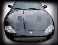 Jaguar XK8 XKR Stainless Mesh Grille Factory Style in Black or Chrome Grill