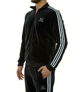 MED adidas Originals  VELOUR  Beckenbauer  TRACKSUIT   jacket & pants  LAST1