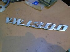 VW Beetle * 1300 engine lid badge *  Original vw item  part no 111 853 687    A