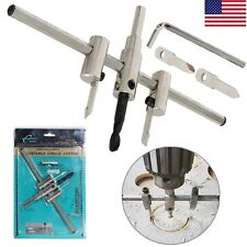 Adjustable Circle Hole Cutter Wood Drywall Bit Drill Saw Carpentry Hole Saw NEW