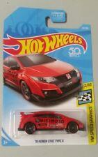 Hot Wheels '16 Honda Civic Type R Red 2018