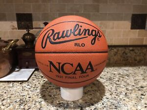 Official Rawlings 1991 NCAA Final Four Game Ball Leather Spalding Basketball