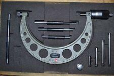 HOLEX Bügelmessschraube 100-200 mm 100er Teilung 0,01 mm Mikrometer