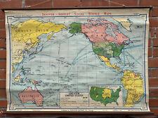 Denoyer-Geppert Social Science Maps, Greater United States, 1942