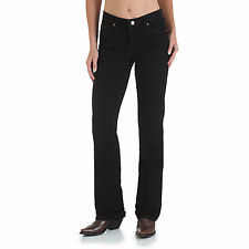 Wrangler Woman Ultimate Riding Jean Boot Cut Mid Rise WRQ20BL