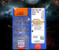 10pcs KORLOY DCMT11T304-HMP PC9030 DCMT32.51-HMP PC9030