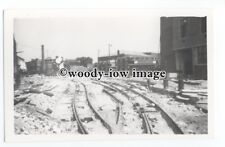 z1514 - London Transport Tram - Trams & Rails at the back of Depot - photograph