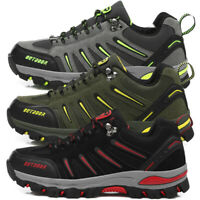 Men's Hiking Trail Shoes Outdoor Trekking Sneaker Sports Running Casual Shoes