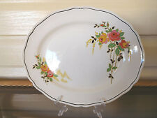 """Royal Doulton """"Rosslyn"""" Small Platter D5399 Made In England 1930s"""