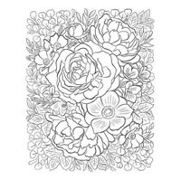 Transparent Flower Clear Stamp Silicone Seal for DIY Scrapbooking Card Make AU