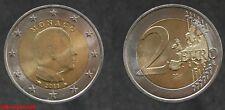 Euro pièce de 2 €uros de Monaco 2011 en qualité UNC, sortant d'un rouleau