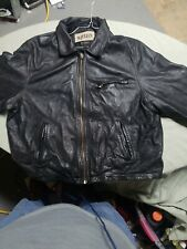 M.Julian by Wilsons Leather Experts Jacket Soft Black Zip Coat Men's Size US xl