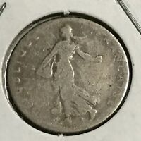 1898 FRANCE SILVER 50 CENTIMES
