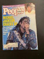 PEOPLE MAGAZINE November 29 1993 Michael Jackson Cracks UP