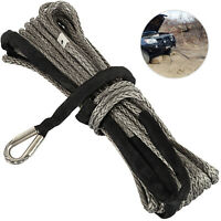 12MM X 28M Synthetic Winch Rope Cable Synthetic Fiber Climbing Colorfast