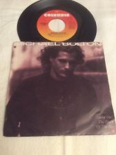 "Michael Bolton 45 Vinyl 7"" Dock Of The Bay (Rare) Call My Name 1988 Record No CD"