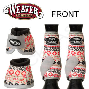 L M S Prodigy Horse Front Neoprene Athletic Sports Bell Boots By Weaver U--P19