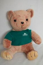 "Lacoste 11"" Plush Toy Teddy Bear in Green Shirt"