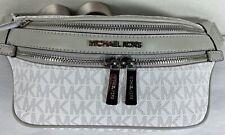Michael Kors Kenly Small Waistpack Crossbody Bag Bright White 35t0sy9n1b