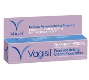 Vagisil Medicated Cream Fast Relief From Feminine Itching - 25g OzHealthExperts