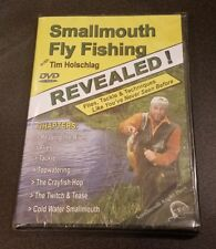 Smallmouth Fly Fishing Revealed! with Tim Holschlag (DVD) angler press sport NEW